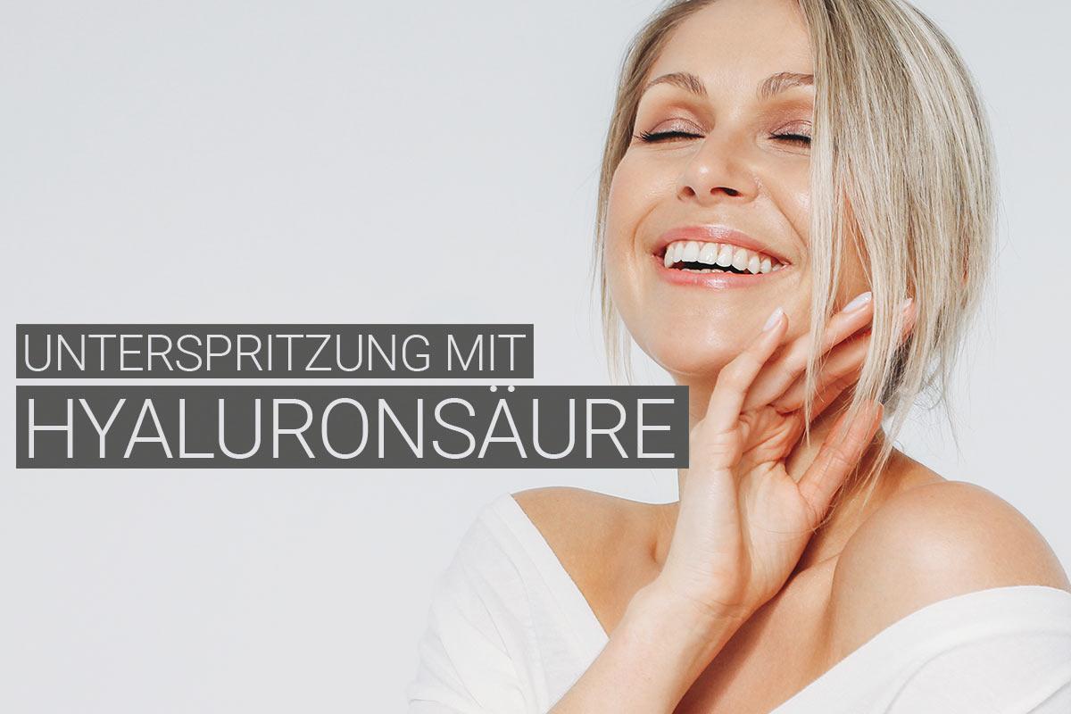 Unterspritzung mit Hyaluronsäure bei M1 Med Beauty Swiss