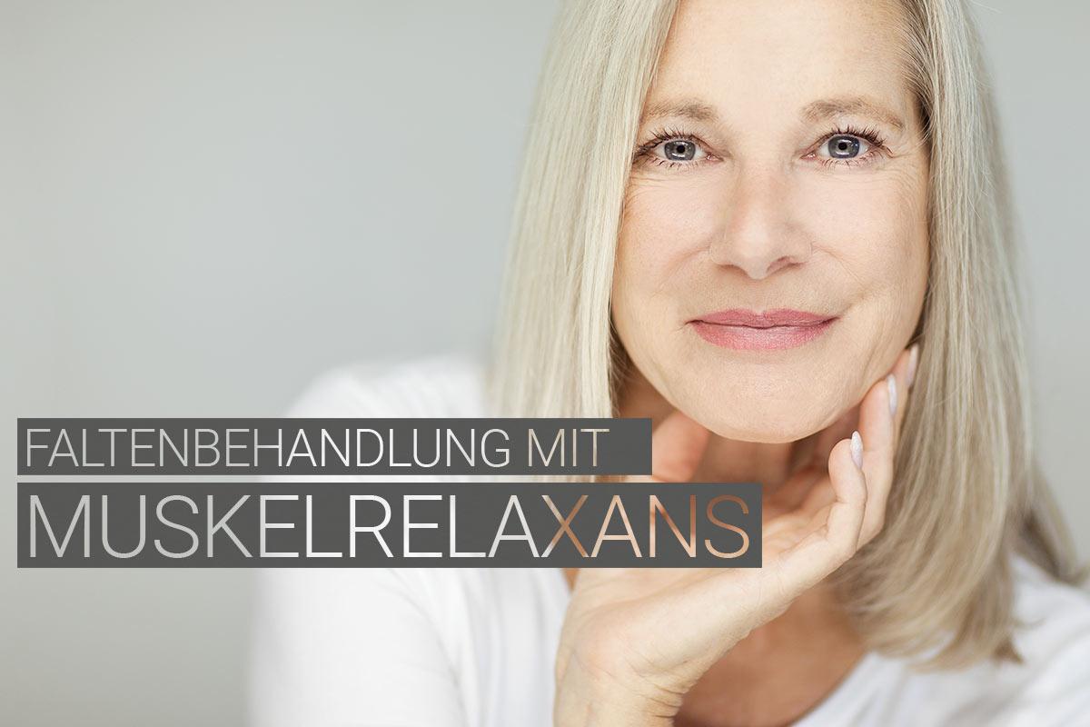 Faltenbehandlung mit Muskelrelaxans bei M1 Med Beauty Swiss