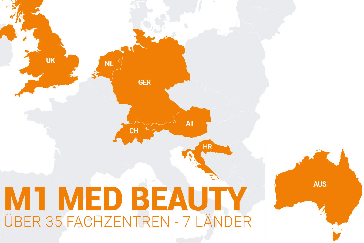 M1 Med Beauty Karte