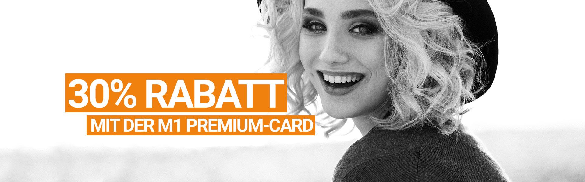 Rabatt mit der Premium Card sichern