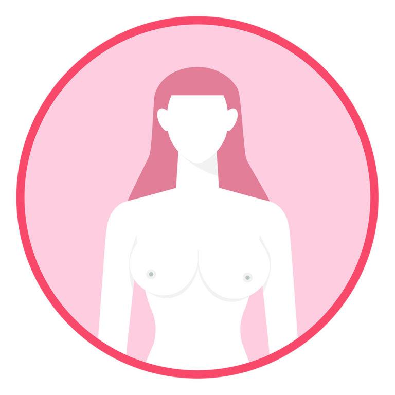 Untersuchen Sie Ihre Brust einmal pro Monat nach der Periode
