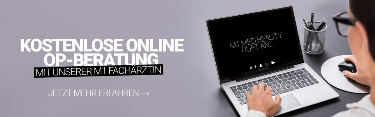 Jetzt neu: Online OP-Beratung mit unserer erfahrenen M1 Fachärztin