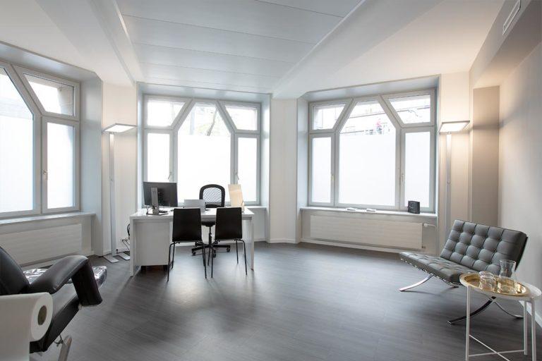 M1 Med Beauty Zürich Behandlungsraum