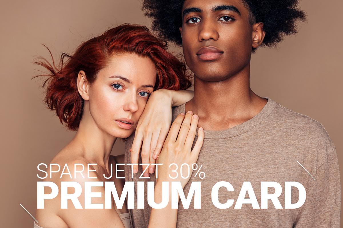 30% discount for Premium Card members banner