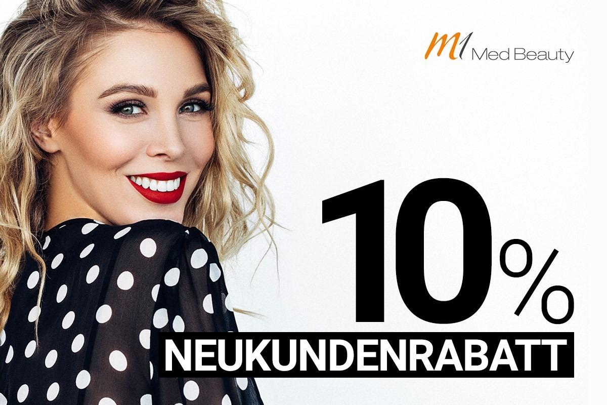 M1 Med Beauty 10% Neukunden Rabatt