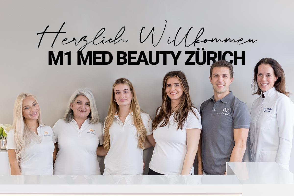 Willkommen bei M1 Med Beauty Zürich