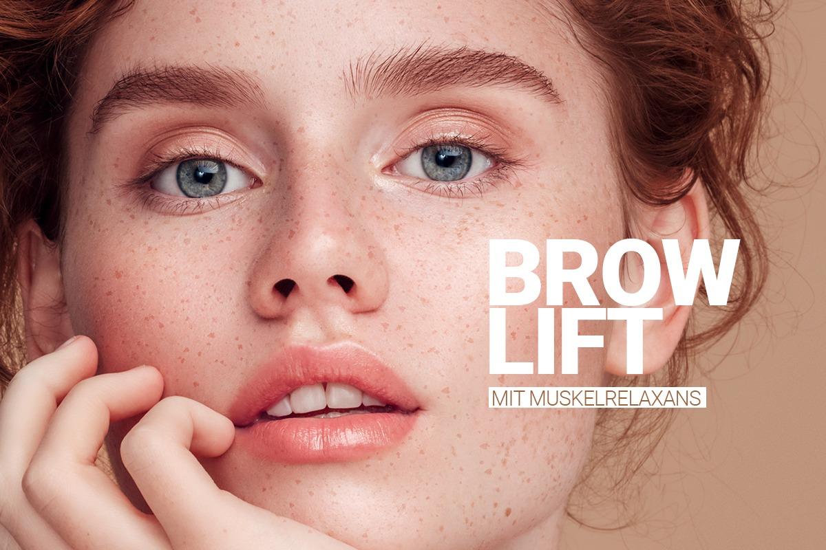 Brow Lift mit Muskelrelanxans bei M1 Med Beauty von erfahrenen Ärzten