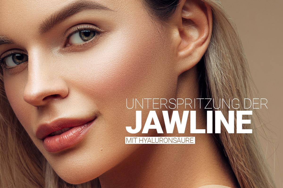 Jawline-Behandlung bei M1 Med Beauty