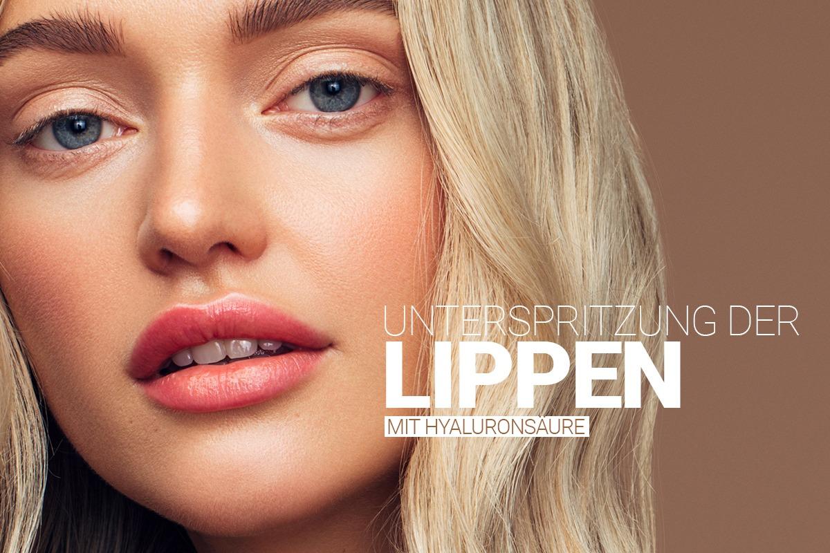 Lippenunterspritzung bei M1 Med Beauty